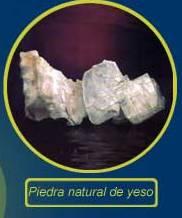 Piedra natural de yeso