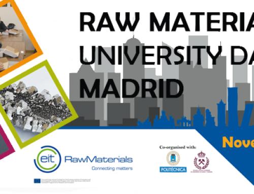 Participación de AINDEX en Raw Materials University Day 2017 Madrid