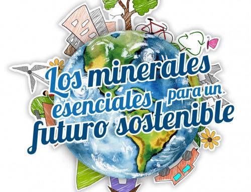 Exposición: Los minerales esenciales para un futuro sostenible.