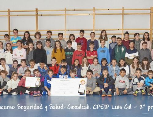 El Colegio Isidoro Gil de Jaz de Sos del Rey Católico, ganador del I Concurso Escolar sobre Seguridad y Salud organizado por Geoalcali