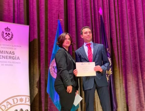 Premio AINDEX al mejor proyecto de minerales industriales 2019