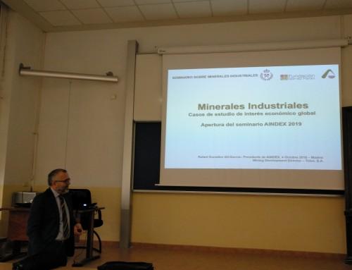Comienzo del III Seminario sobre Minerales Industriales de AINDEX