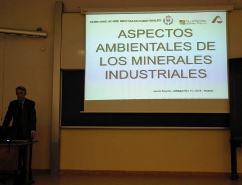III Seminario sobre Minerales Industriales de AINDEX. Clase del 8 de noviembre de 2019