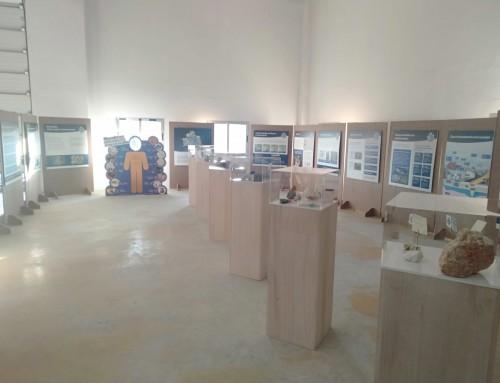 Exposición de minerales fija en Sangüesa